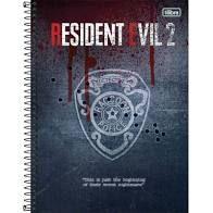 Caderno Esp Cd Univ 10m 160f Resident Evil-tilibra