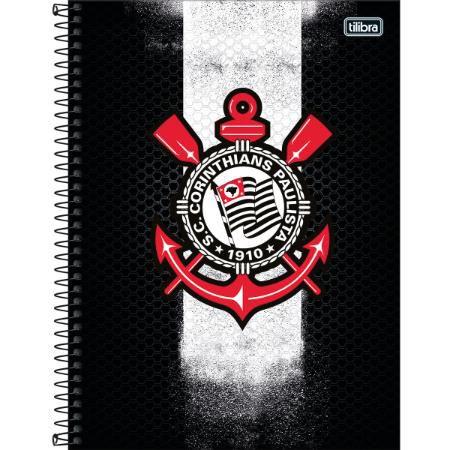 Caderno Esp Cd Univ 16m 256f Corinthians - Tilibra