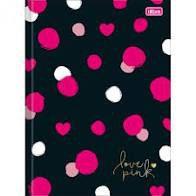 Caderno Broc Cd Univ 80f Love Pink - Tilibra