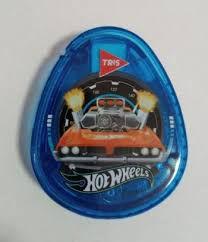 Apontador C/deposito Oval Hot Wheels - Tris