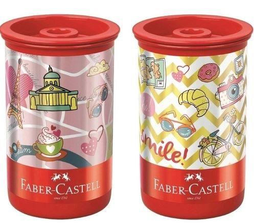 Apontador C/dep Estampa Lets - Faber Castell