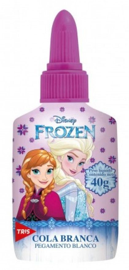 Cola Branca 40g Frozen - Tris