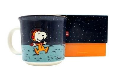 Caneca 350ml Tom Snoopy Space - Zona
