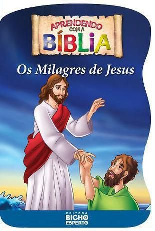 Biblia Livro De Colorir Milagres De Jesus - Bicho
