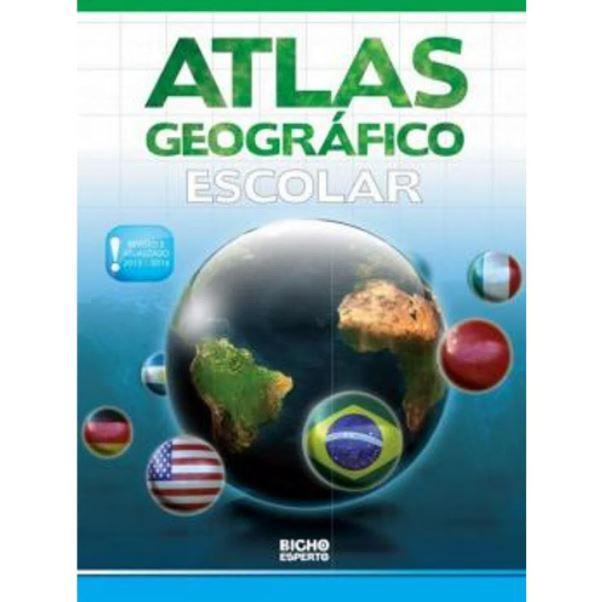 Atlas Geografico Escolar - Bicho Esperto