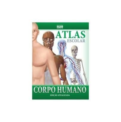Atlas Escolar Corpo Humano - Bicho Esperto
