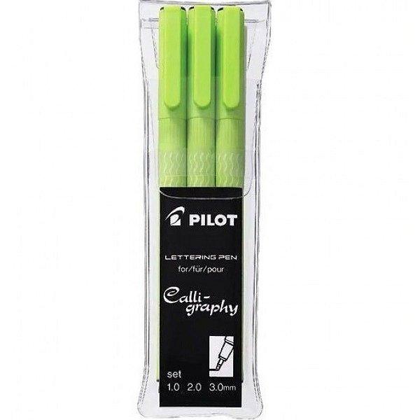 Marcador Lettering Pen Swn-drl C/3 - Pilot