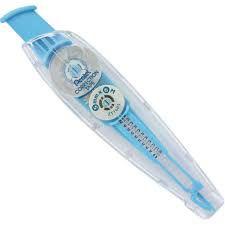 Fita Corretiva 5mm Azul Claro - Pentel