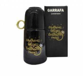 Mini Garrafa 350ml Alca De Anel Mulheres - Zona