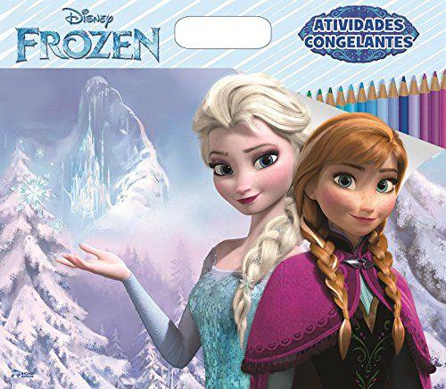 Mega Livro Ativ Congelantes - Frozen - Bicho Esper