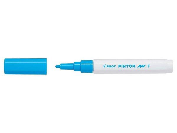 Marcador Fine 1,0mm Pintor Azul Claro - Pilot