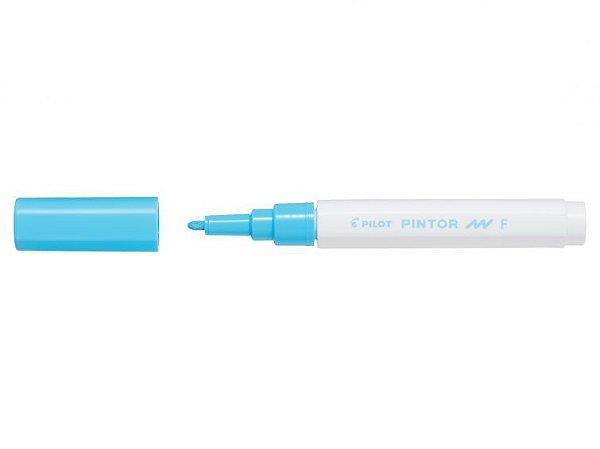 Marcador Fine 1,0mm Pintor Azul Pastel - Pilot
