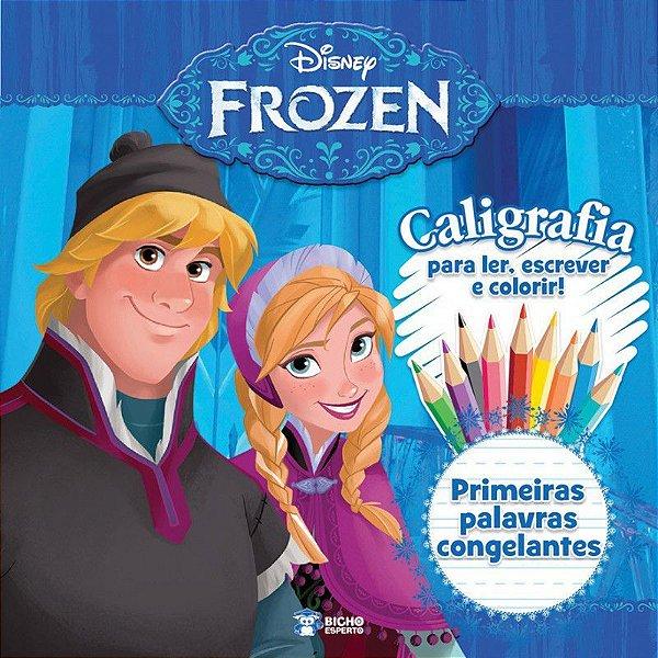 Disney Frozen - Caligrafia Prim Palavras - Bicho E