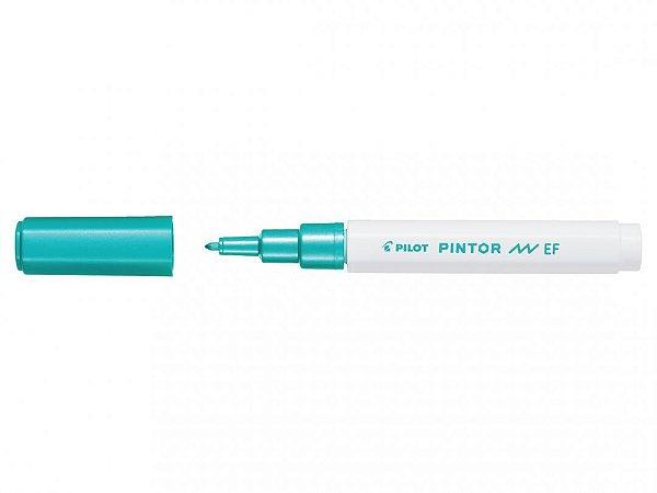 Marcador E Fine 0,7mm Pintor Verde Metalic - Pilot