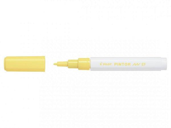 Marcador E Fine 0,7mm Pintor Amarelo - Pilot