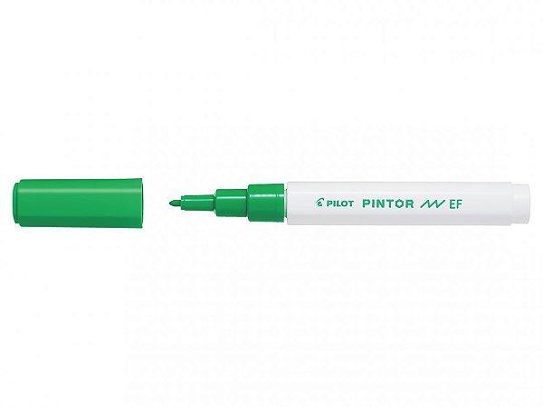 Marcador E Fine 0,7mm Pintor Verde Claro - Pilot