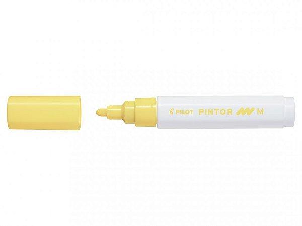 Marcador Medio 1,4mm Pintor Amarelo - Pilot