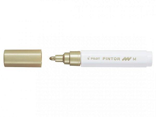 Marcador Medio 1,4mm Pintor Dourado - Pilot