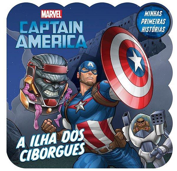 Marvel Minhas 1 Hist Avengers Captain Americ-bicho