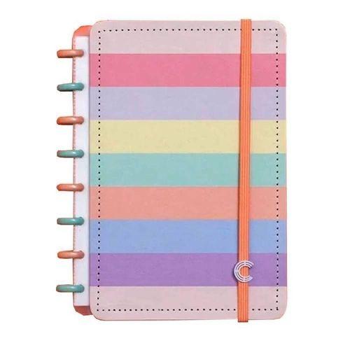 Caderno Inteligente A5 Arco Iris Pastel-caderno In