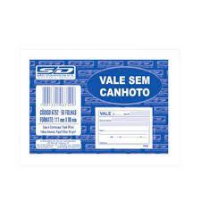 Bloco Vale 104x77cm 50f Simples - Sd