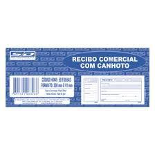 Bloco Recibo 200x91cm 100f Comercial C/canhoto -sd