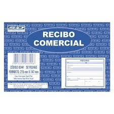 Bloco Recibo 147x215cm 50f Comercial S/copia - Sd