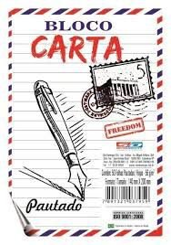 Bloco Carta 50f Pautado - Sd