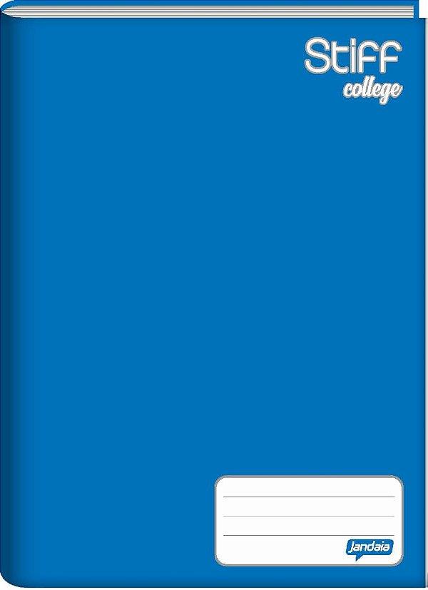 Caderno Broc Cd 1/4 48f Stiff Azul - Jandaia