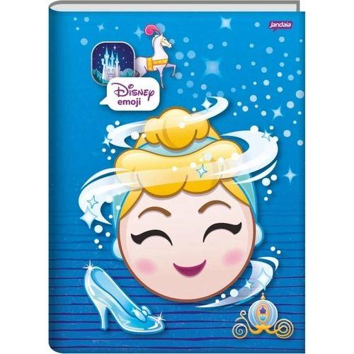 Caderno Broc Cd 1/4 96f Disney Emoji - Jandaia