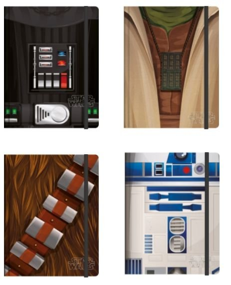 Caderneta Esp Star Wars 80fls - Jandaia