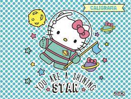 Caderno Cost Cartografia Cd 48f Hello Kitty - Sd