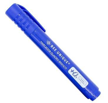 Marcador Quadro Branco Cor Azul - Bee