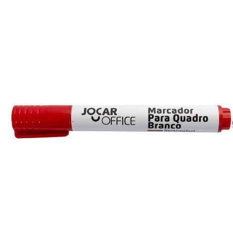 Marcador P/quadro Bco Cor Vermelho - Jocar Office