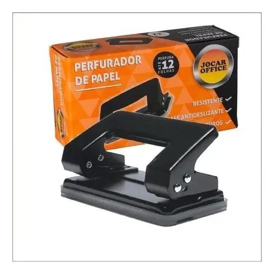 Perfurador Metal 12f 2 Furos - Jocar