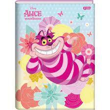 Caderno Broc Cd 1m 96f Alice - Jandaia