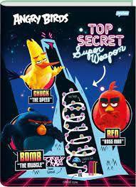 Caderno Broc Cd 1m 96f Angry Birds - Jandaia