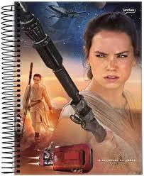 Caderno Esp Univ Cd 10m 200f Star Wars - Jandaia