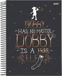Caderno Esp Univ Cd 01m 96f Harry Potter - Jandaia