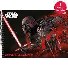 Caderno Esp Cartografia Cd 96f Star Wars - Jandaia
