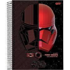 Caderno Esp Univ Cd 15m 300f Star Wars F -jandaia