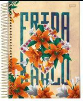 Caderno Esp Univ Cd 15m 300f Frida Kahlo - Jandaia