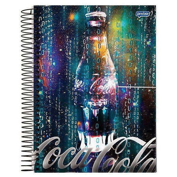 Caderno Esp Univ Cd 12m 240f Coca Cola - Jandaia