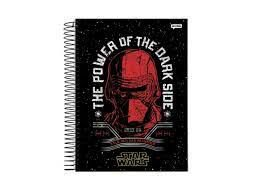 Caderno Esp Univ Cd 20m 400f Star Wars - Jandaia