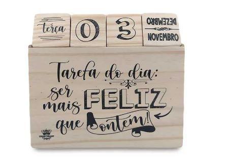 Calendario Permanete Cubos Tarefa Do Dia - Zenir