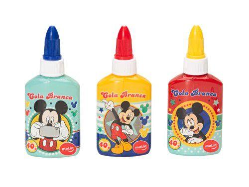 Cola Branca 40g Mickey - Molin