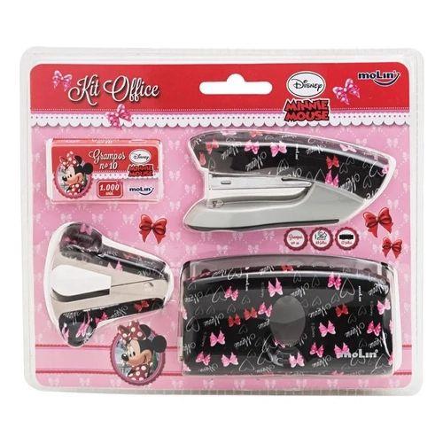 Kit Office Blister C/4 Desk Minnie - Molin