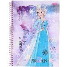 Caderno Esp Univ Cd 15m 300f Frozen Fever - Jandai