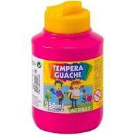 Tempera Guache 250ml Rosa - Acrilex