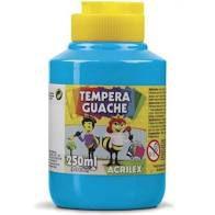 Tempera Guache 250ml Azul Celeste - Acrilex